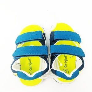 NEW Cat & Jack Toddler Boys Fisherman Sandals blue
